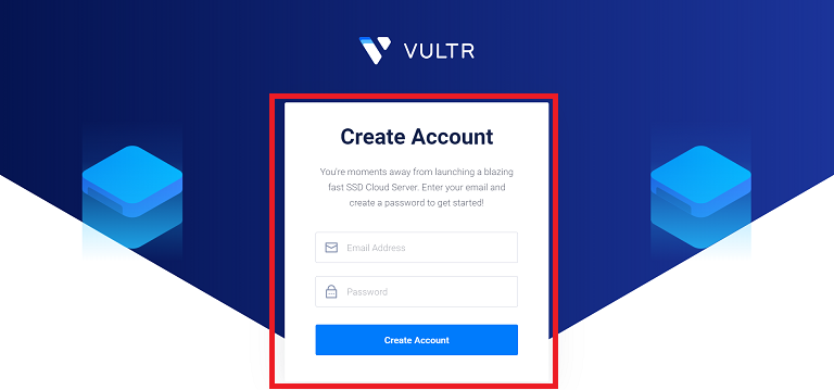 create vultr free account to get gift code
